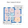 План 1-го этажа цвет — копия