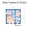 План 1 этаж без табл — копия